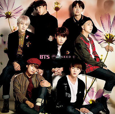 BTS (Bangtan Boys) Japan 5th Single [I NEED U] (CD + DVD) Limited Edition