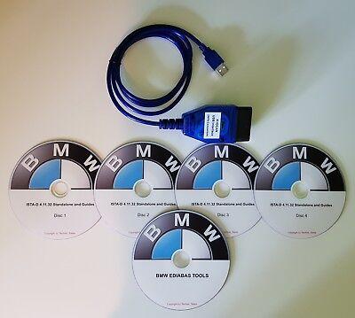 BMW K+DCAN Diagnostic & Coding Cable Tool✔️ Mini R50 R52 R53 R55 R56 R57  R58 R60 | eBay