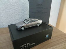 Herpa BMW Shop ° BMW 7er F01 -F02 ab 2008 silber met. neu OVP    1:87