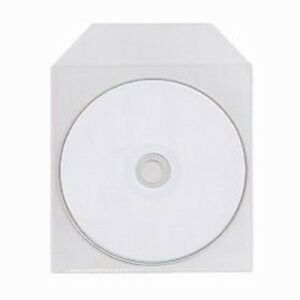100-Pack-CPP-Clear-Plastic-Bag-Sleeve-Fit-CD-DVD