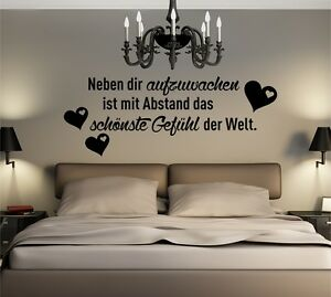 Dettagli su WD Muro Tatuaggio accanto a te svegliarsi amore Frase Adesivo  Muro Camera Da Letto Sticker- mostra il titolo originale