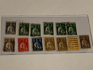 Portugal-Stamp-Lot-PA6-1912-31-A64