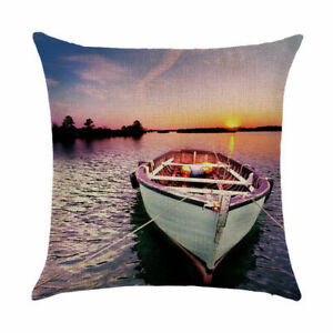 Print building car cover sofa cover Home pillow DecorFamous cushion case waist