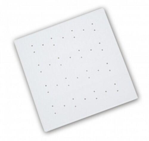 Anti-Bacterial  Rubber Bath Shower Mat Anti-Slip White Non Slippery Bathroom New