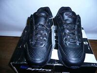 Spira Women's Classic Leather Walking Shoe,blackblack,5.5 M Us