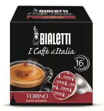 NOVITA'!! 16 Capsule in alluminio Bialetti Mokespresso TORINO - Mokona Tazzona