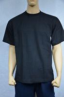2 Shaka Wear Super Max Heavy Weight T-shirts Black Tee Plain Lt Tall 2pc