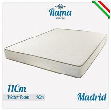 MATERASSO MATRIMONIALE MADRID 160X190 H 11 CM IN WATERFOAM ANTIACARO ANALLERGICO