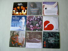 ANDY BURROWS job lot of 9 promo CD albums/singles Fall Together Again
