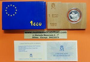 1-ECU-1989-PLATA-EUROPA-RAPTADA-POR-ZEUS-ESTUCHE-CERTIFICADO-FNMT-Espana