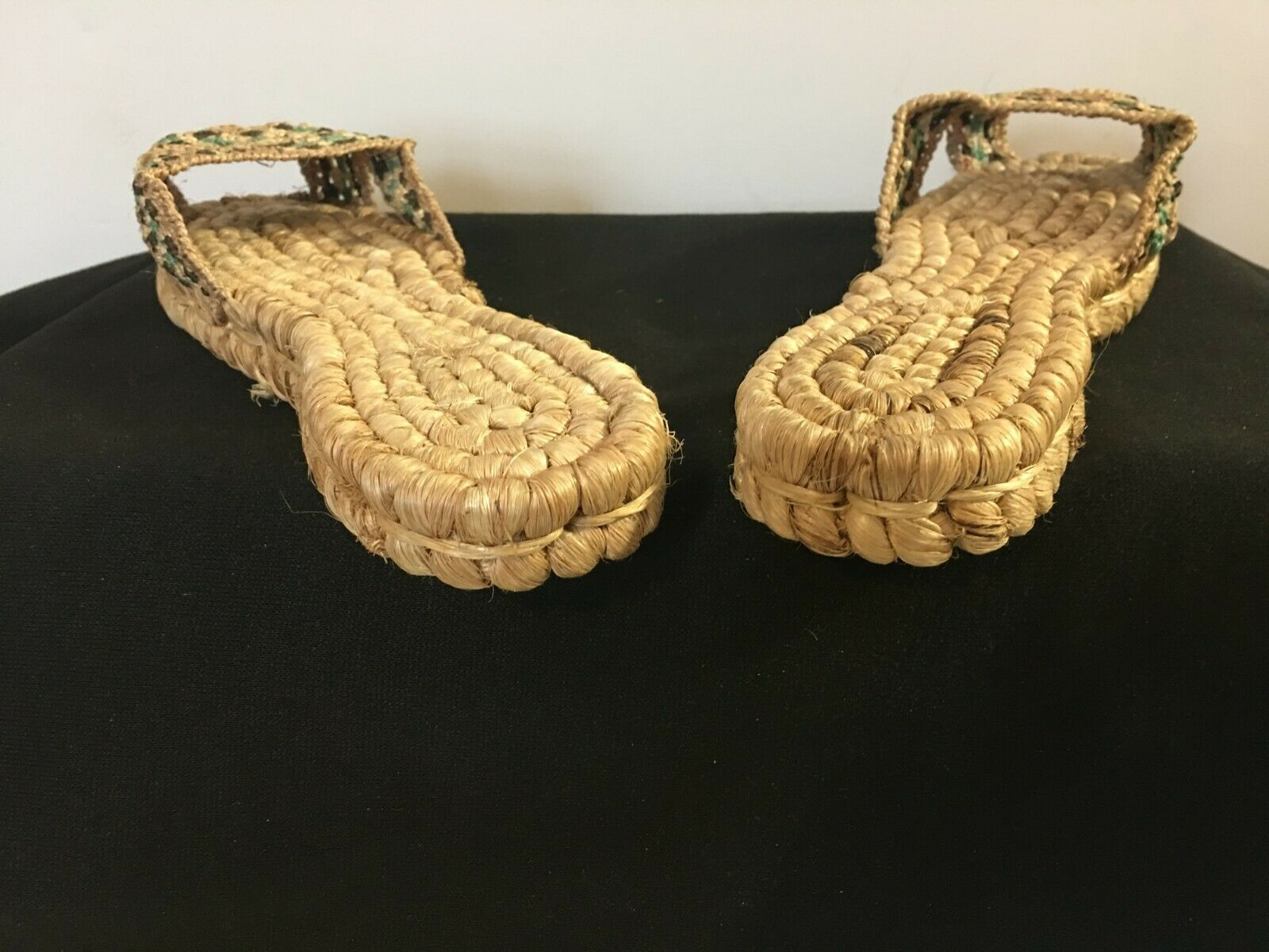 Vintage 1940's Hand Woven Women's Sandals from Ph… - image 4