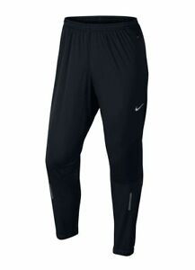 Details about Nike Men's Dri-FIT Shield Running Pants Black/Reflective  Silver Sz Small