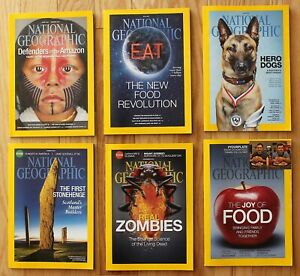 National Geographic 2014. January; May; June; August; November; You Choose