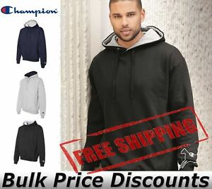 Champion-Mens-Cotton-Max-Hooded-Sweatshirt-Hoodie-Pullover-S171-up-to-3XL