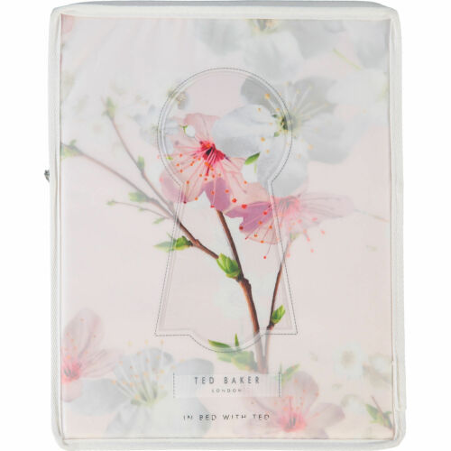 NEUF Ted Baker Oriental Blossom King Taille Parure Housse de couette