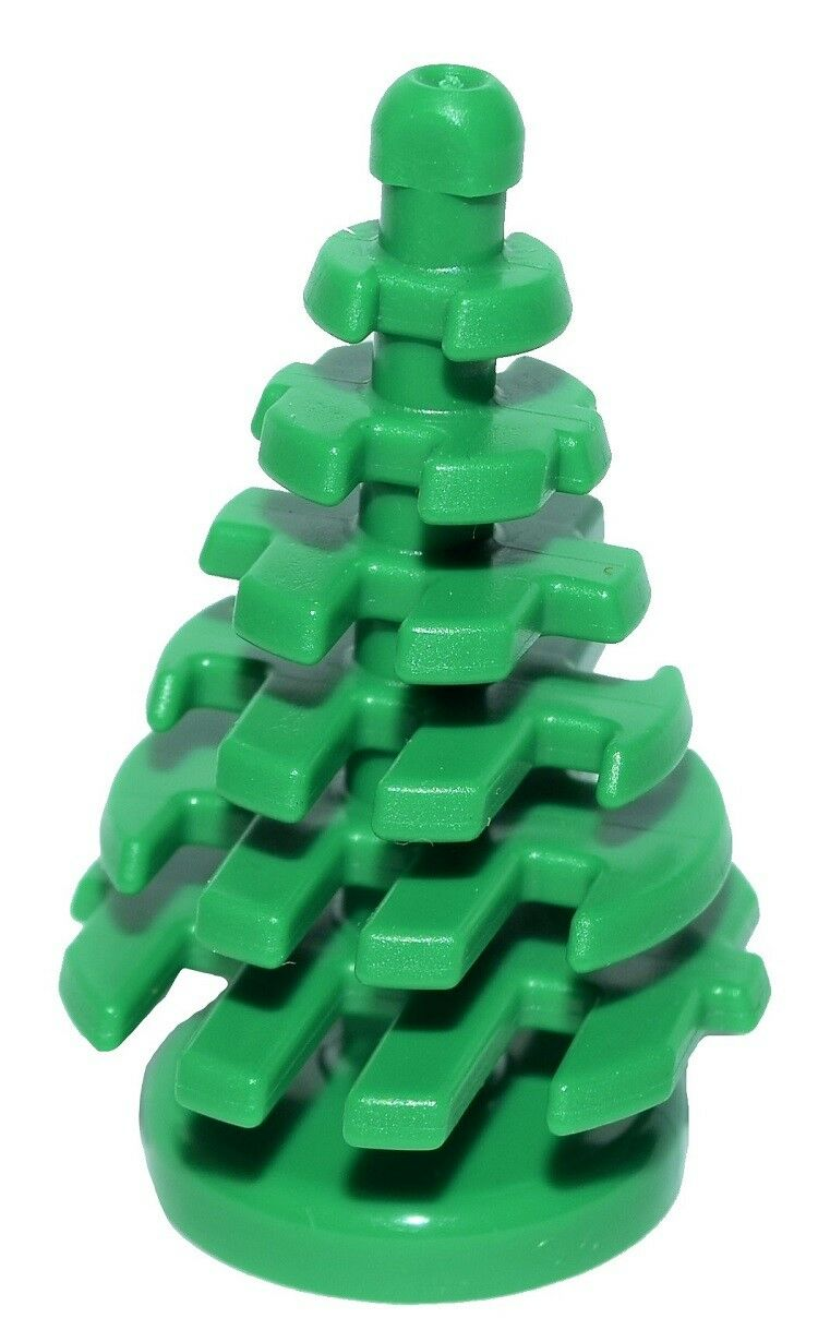 ☀️Lego New Bulk Lot Small Green Spruce Pine Pine Pine Trees X50 Or As Green Plants 28e320
