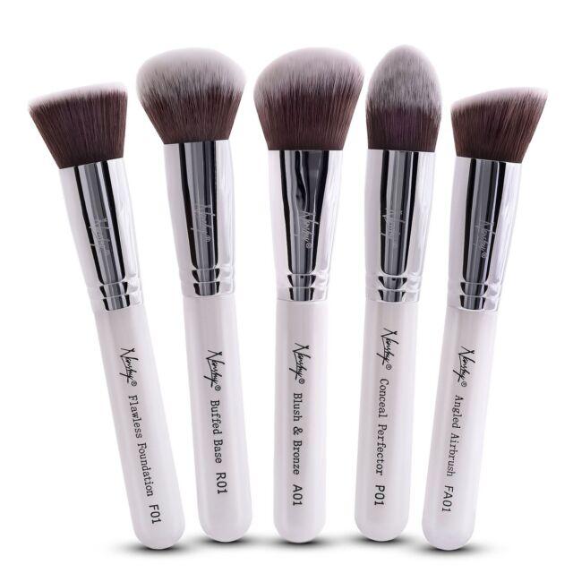 Nanshy Kabuki Kosmetik Make-Up Bürsten Set Grundierung Pulver