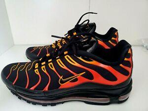 air max 97 plus orange and black