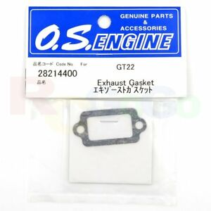 Engines Genuine Parts** EXHASUT GASKET GT22 # OS28214400 **O.S
