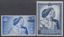 Oman 1948 ** Mi.25/26 SG 25/26 Silberhochzeit Silver Wedding
