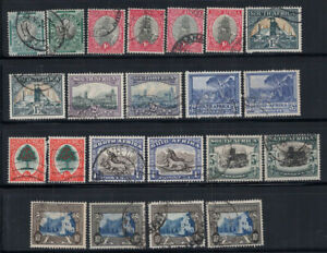 Union of South Africa 1933 Gestempelt 100% Kultur, Tradition