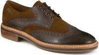 Clarks Men Grimsby Limit Brown Combi Leather Trendy & Smart Uk 10