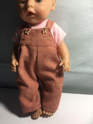 16-18 Pollici altezza bambole Salopette bambole Salopette 16-18 pollici.