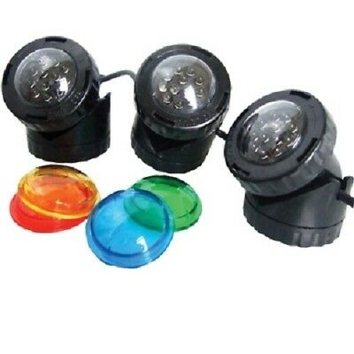 Amabile Stagno Pondxpert Pondolight Alogena & Led Triple Pack Giardino Luce Spot-