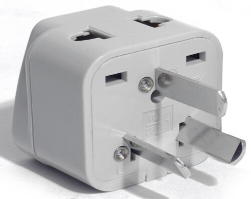 Change Plug Style Plug Adapter 2 In 1 Australia New Zealand China Adapter