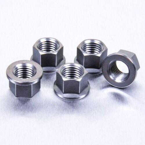 Pro-Bolt Titanium Sprocket Nut M12 x Pack x 5 BMW S1000RR 10-14 1.5mm