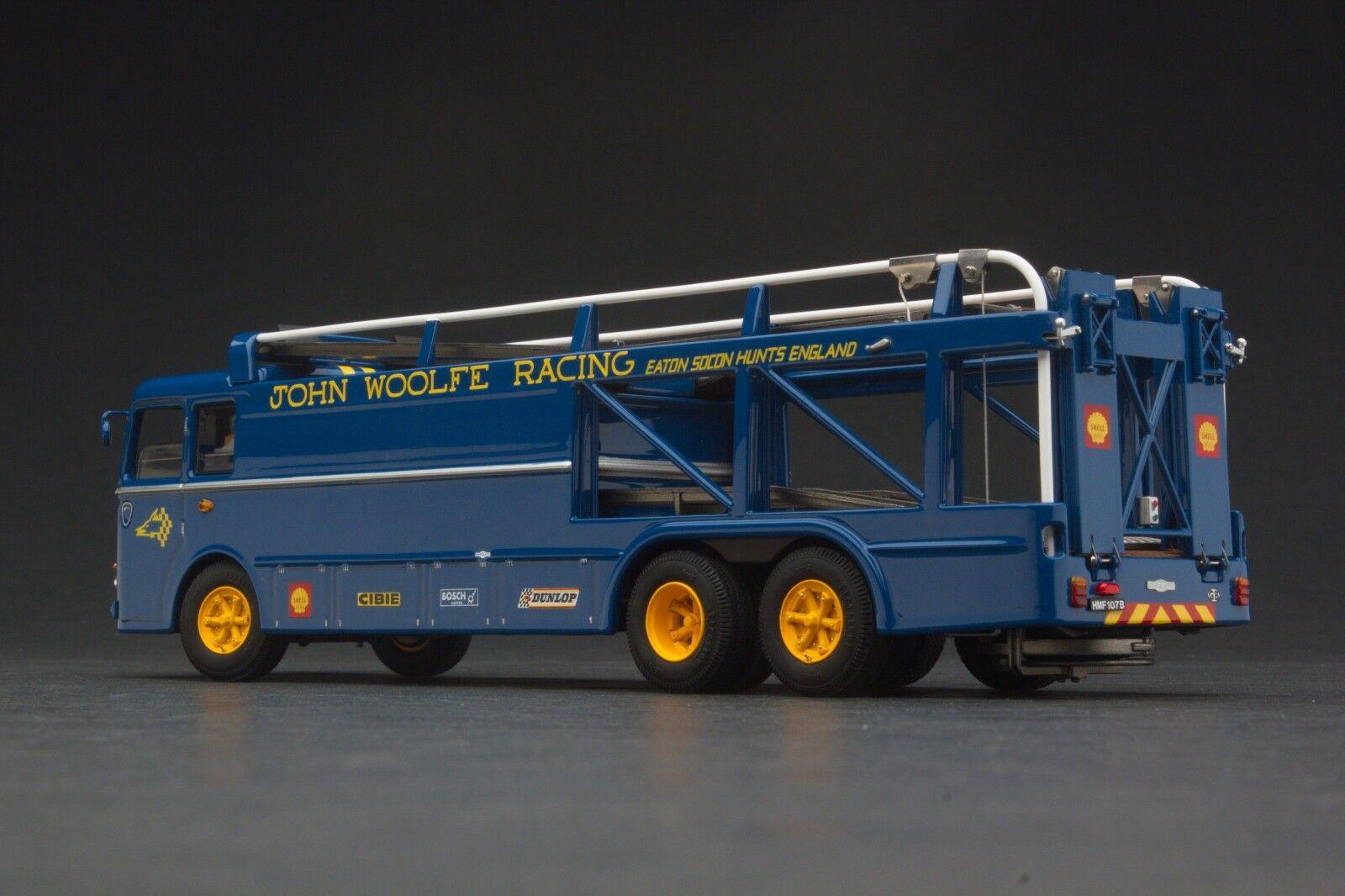 Exoto John Woolfe Course   Bartoletti 306 2 2 2 Voitures Transporter   1 43 EXO00040 e84bb8
