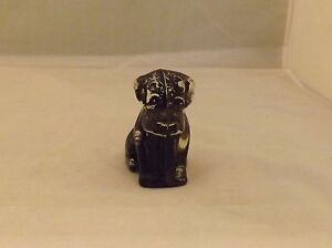 Vintage-Clear-Glass-Dog-w-Black-Painted-Inside