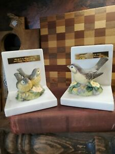Hour Of Power Sparrows Club 1995 Marble Bird Bookends