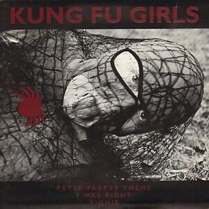 KUNG-FU-GIRLS-Peter-Parker-Theme-1991-NORWAY-PUNK-ORANGE-VINYL-EP-7-034