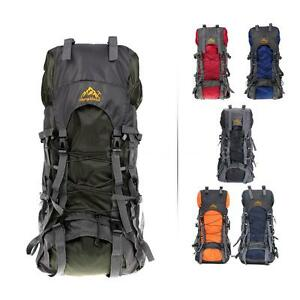 6 Kinds of 55L Large Capacity Waterproof Climbing Outdoor Backpack Hiking Bag