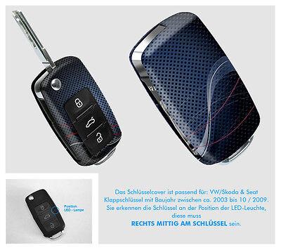 VW Seat Skoda Schlüssel Cover Hülle Blende Schutz Design fantasy 2 von KEYART