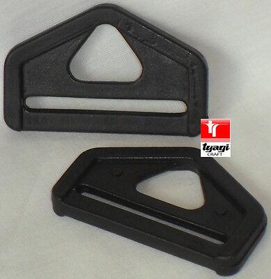 D Anillo Tri Glide y clip deslizante triángulo Ladder Lock Bichero Cable cerraduras inclinar