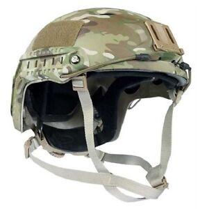 Effizient Us Helm Fast Pj Army Helmet W Funsport Airsoft Rails Multicam Trainingshelm W Rails Hohe Belastbarkeit