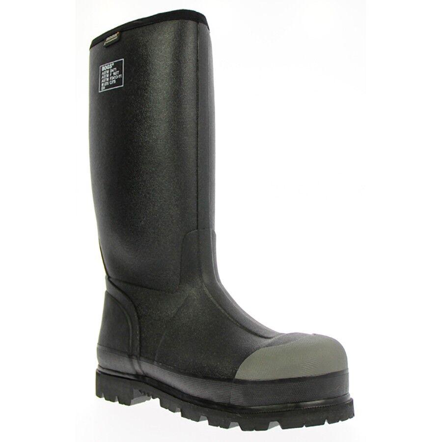 Homme Bogs Forge Lite Steel Toe WF noir Travail bottes 71666-001
