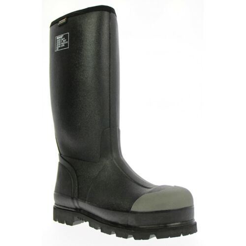 Bogs Men/'s Forge Lite Steel Toe WF Black Work Boots 71666-001