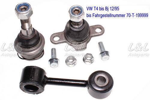 1x KOPPELSTANGE VW TRANSPORTER T4 IV VORDERACHSE BIS BJ 12//95 2x TRAGGELENK