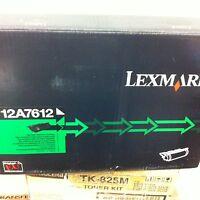 original Lexmark 12A7612  Toner schwarz für T630 632 634 X630 632  neu A-Ware