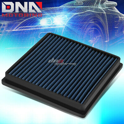 WASHABLE DROP IN PANEL PERFORMANCE AIR FILTER BLACK FOR JAGUAR S-TYPE//XF//XJR//XJ