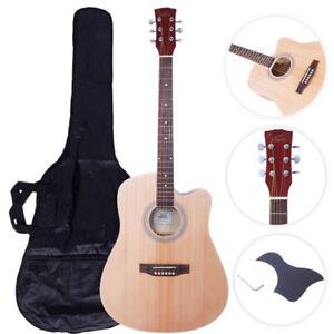 Glarry Gt502 41 Practice Beginner Spruce Folk Acoustic Guitar Wood