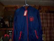 MARVEL COMICS MENS SPIDER MAN JACKET COAT SIZE LARGE 42-44 SUPER HERO CLOTHING