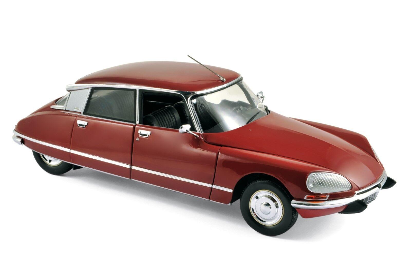 Citroen DS 23 Pallas 1973 rojo 1 18 norev nuevo embalaje original & 181568