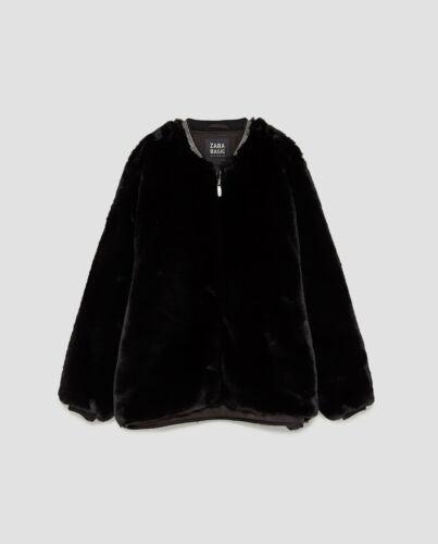 BNWT $119 Zara Women TEXTURED JACKET WITH BEJEWELLED COLLAR 8073//232 Blogger