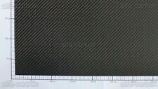 2mm Carbon Platte Kohlefaser CFK Platte ca. 600mm x 100mm
