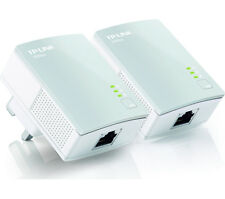 TP-LINK TL-PA4010KIT AV600 Powerline Adapter Twin Pack White Ethernet Port