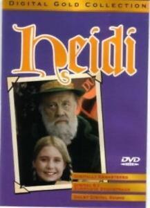 Heidi DVD (digital color) Burl Ives Jean SIMMONS Michae